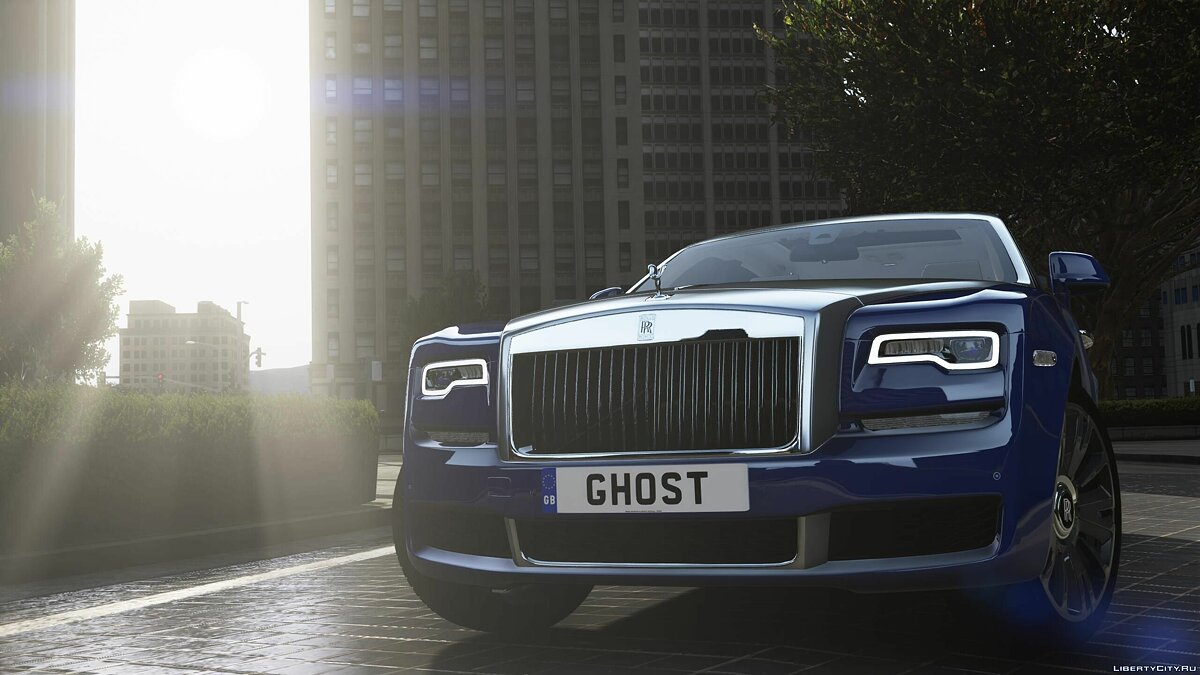 Машина Rolls-Royce 2018 Rolls-Royce Ghost / EWB [Add-On | RHD] 1.0 для GTA 5