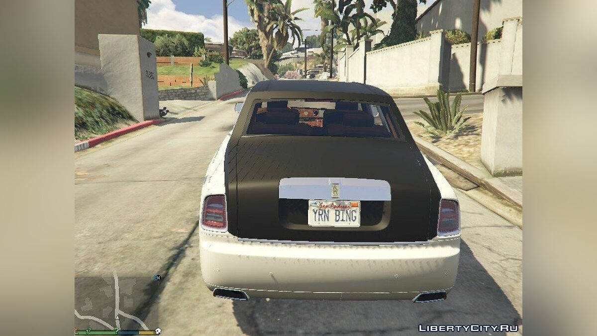 2013 Rolls Royce Phantom для GTA 5 - скриншот #2