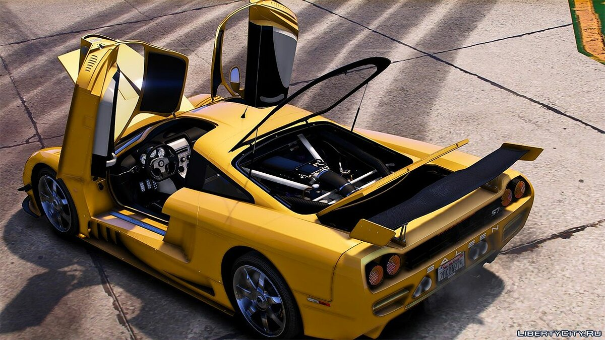 Машина Saleen 2004 Saleen S7 [Add-On / Replace | LODS | Tuning | Unlocked] 1.0a для GTA 5