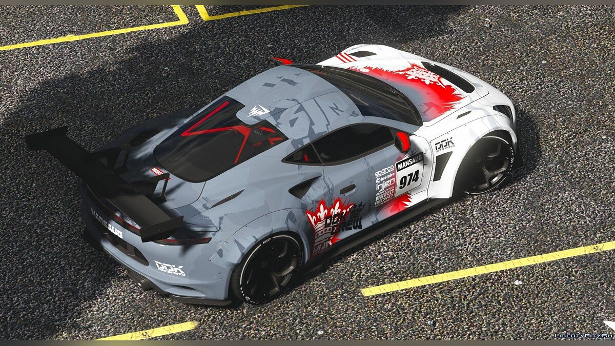 Машина Saleen Saleen S1 Mansaug [Add-On / Replace | Template] 1.0 для GTA 5