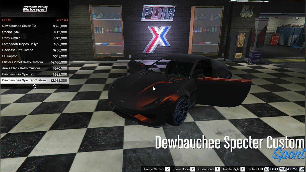Premium Deluxe Motorsport Car Dealership 4.0 для GTA 5 - скриншот #2