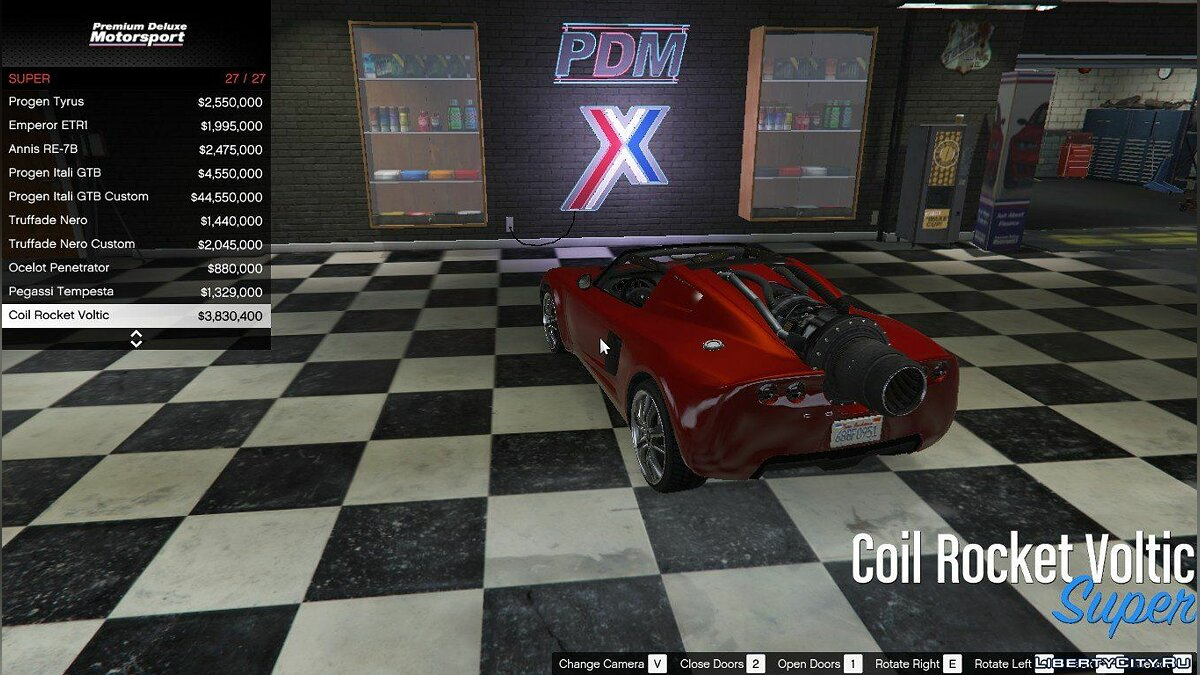Premium Deluxe Motorsport Car Dealership 4.0 для GTA 5 - скриншот #5