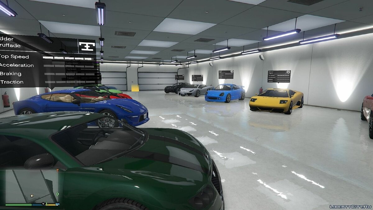 Single Player Garage BETA 0.1 для GTA 5