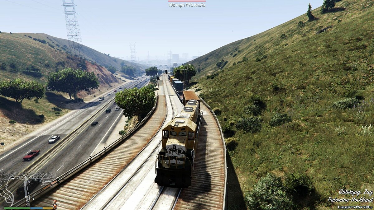 Railroad Engineer 3.2 для GTA 5 - скриншот #13