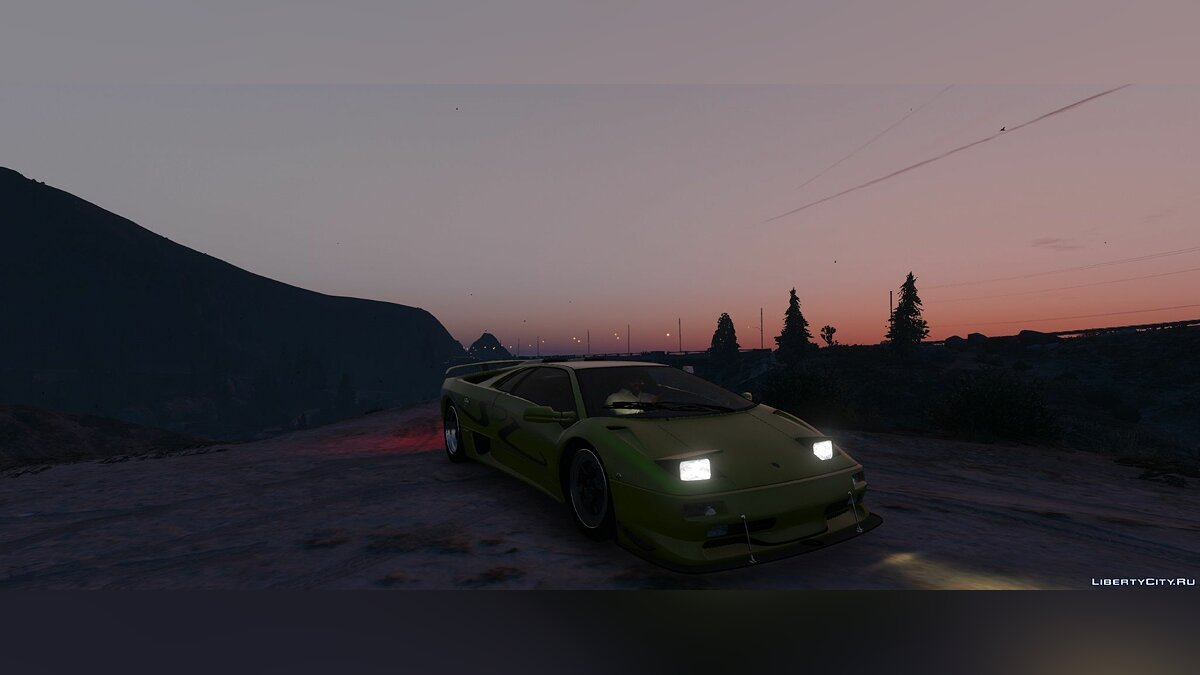 Automatic Pop-up Headlights for various add-on vehicles 3.4 для GTA 5 - скриншот #3