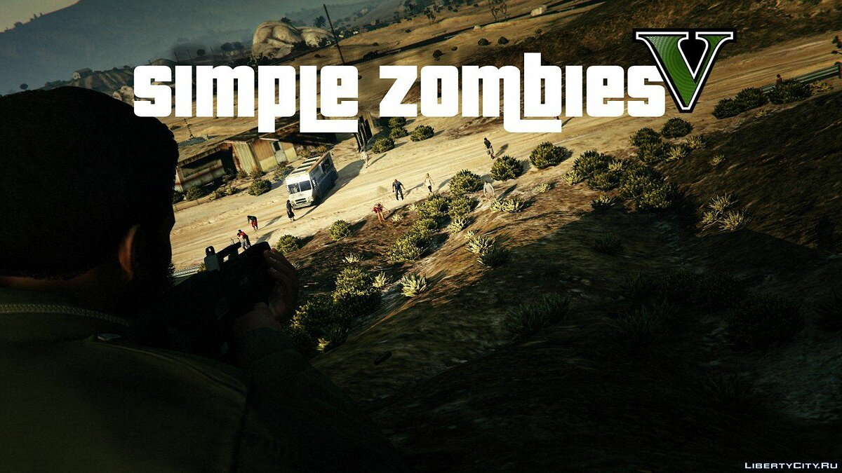 Simple Zombies [.NET] 0.9.0 для GTA 5