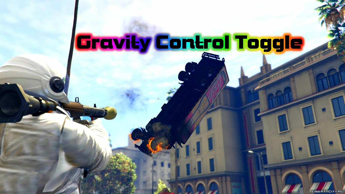 Gravity Control Toggle [.NET] 3.1 для GTA 5