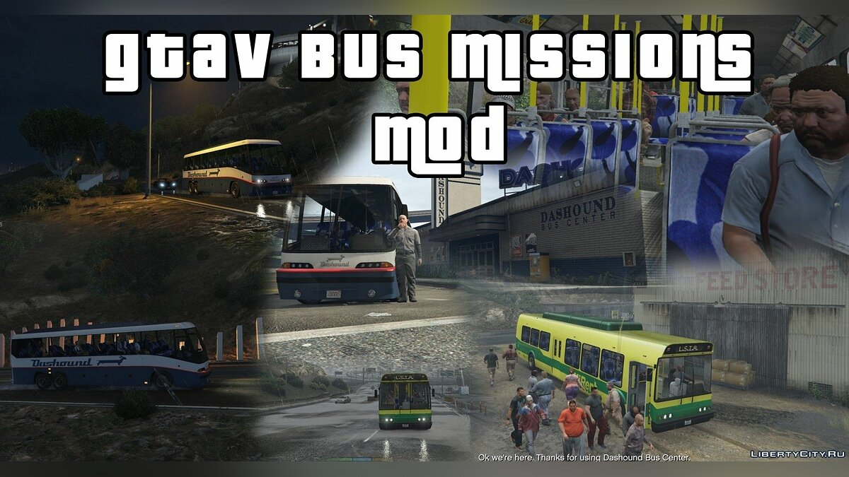 Bus Missions Mod [.NET] 0.1 BETA для GTA 5