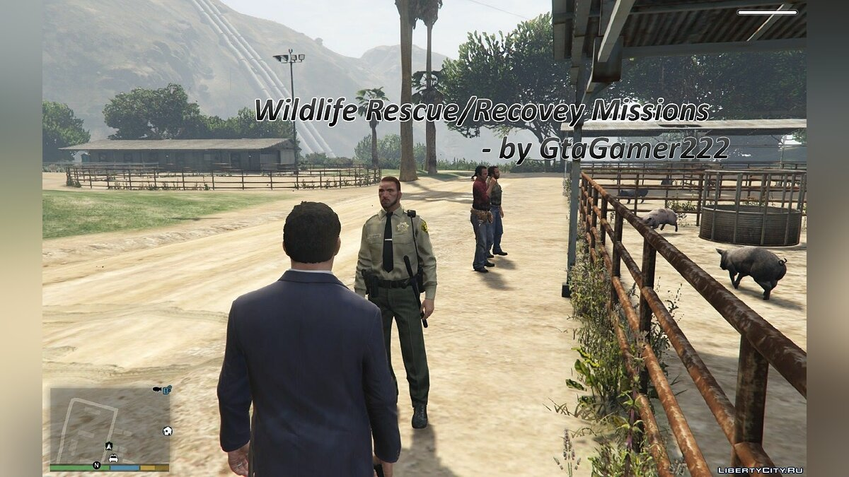 Wildlife Rescue/Recovery Missions [.Net] V0.6 для GTA 5