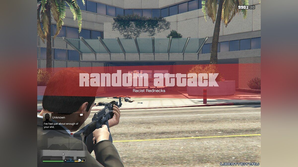 Random Attackings 0.6a для GTA 5 - скриншот #2