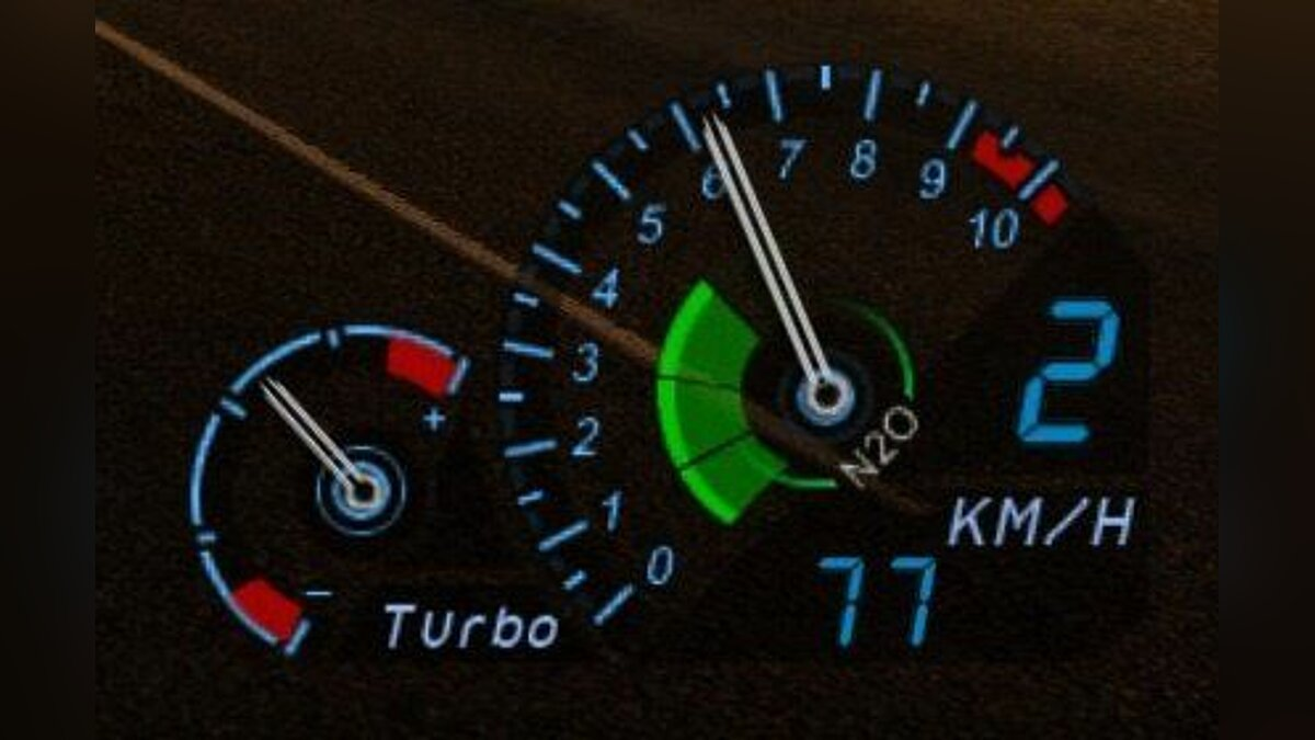 Need for Speed Underground Speedometer v0.0.1 для GTA 5