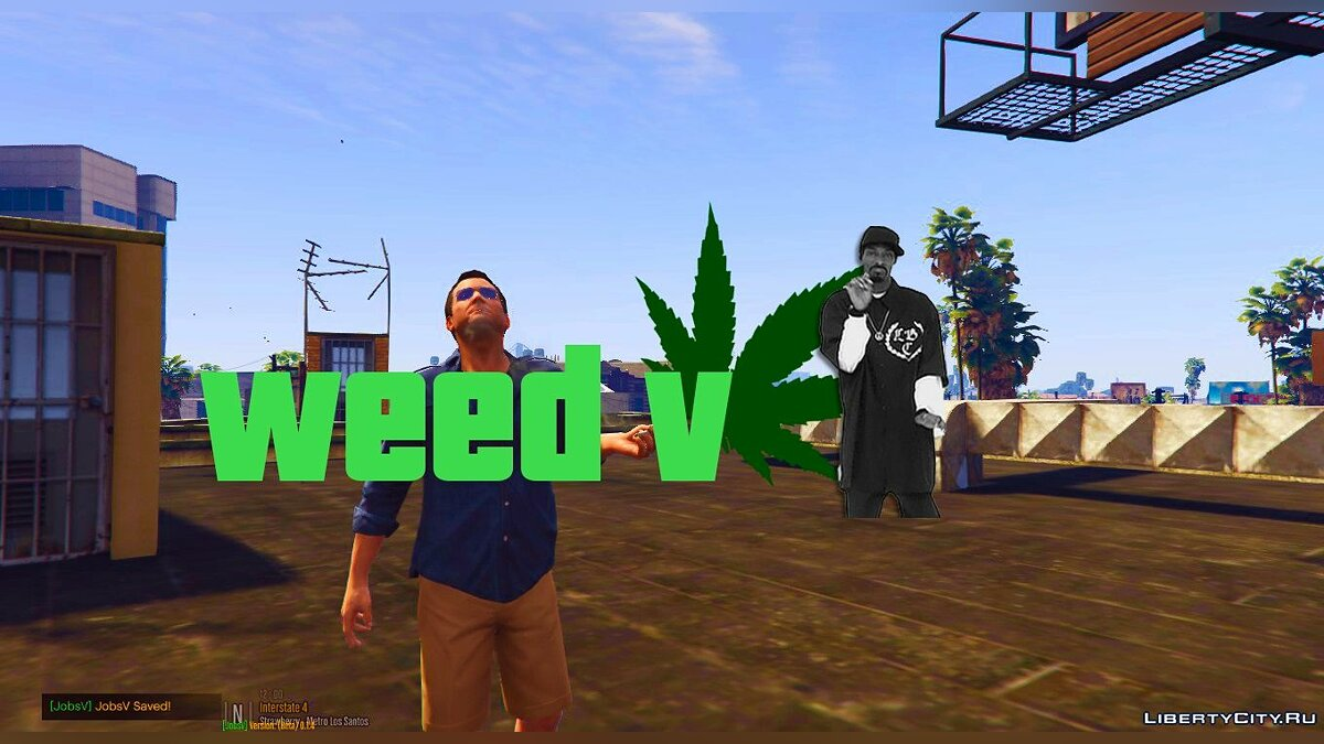 WeedV [Smoke Weed] 1.0 для GTA 5
