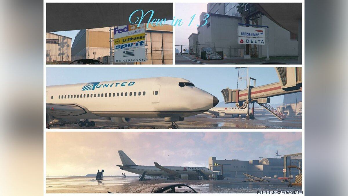 Realistic Airport + More Cars And Planes 1.5 для GTA 5 - Картинка #10