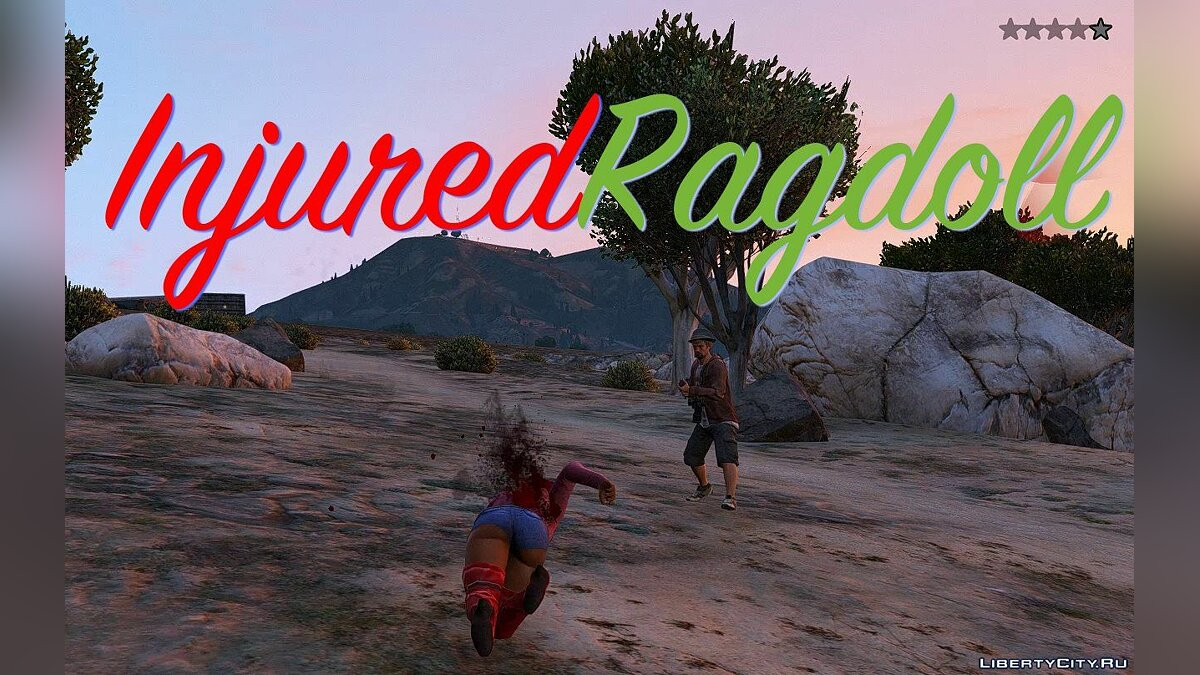 Injured Ragdoll Enhanced 2.3 для GTA 5