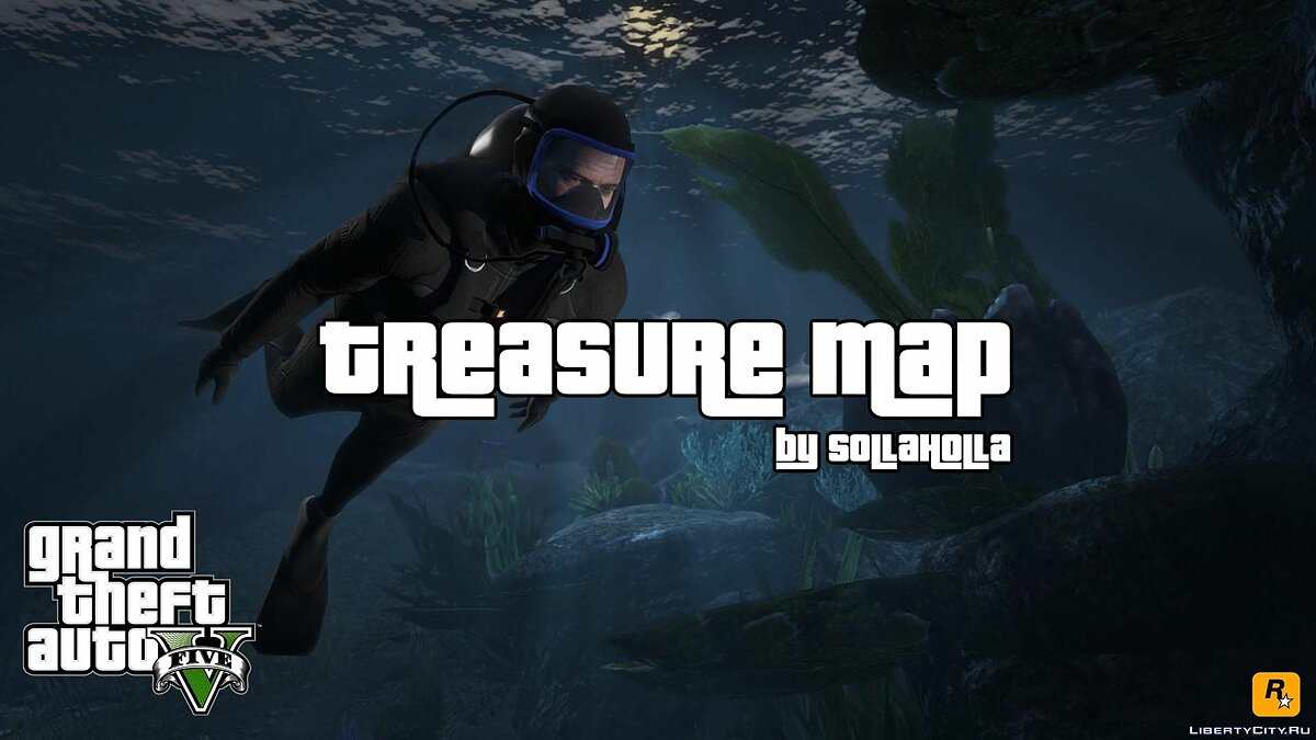 Treasure Map V 1.2 для GTA 5