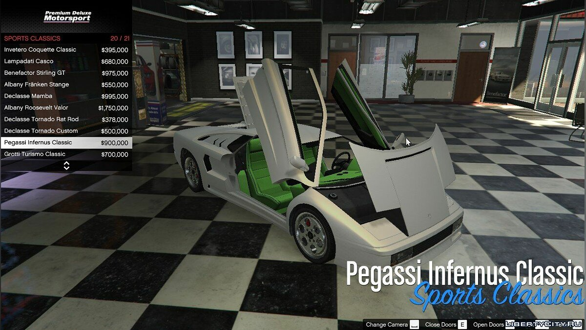 Premium Deluxe Motorsport Car Dealership 4.0.1 для GTA 5 - скриншот #3