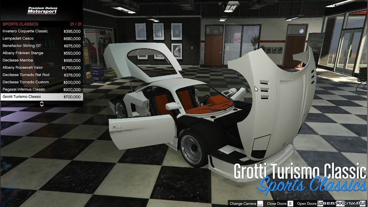 Premium Deluxe Motorsport Car Dealership 4.0.1 для GTA 5 - скриншот #2
