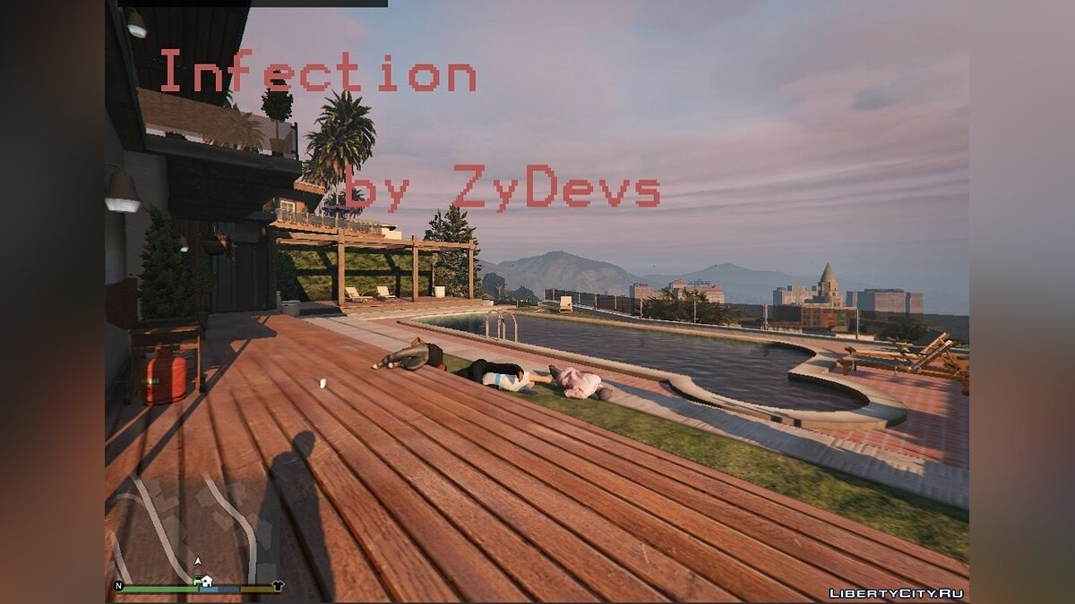 Infection [.NET] 1.2 для GTA 5