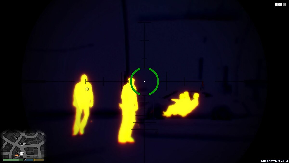Night/Thermal Vision 1.3.3 для GTA 5 - скриншот #3