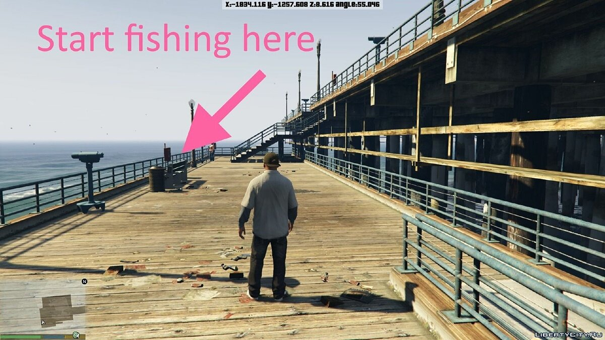 Fishing Mod 0.1 BETA для GTA 5 - скриншот #2