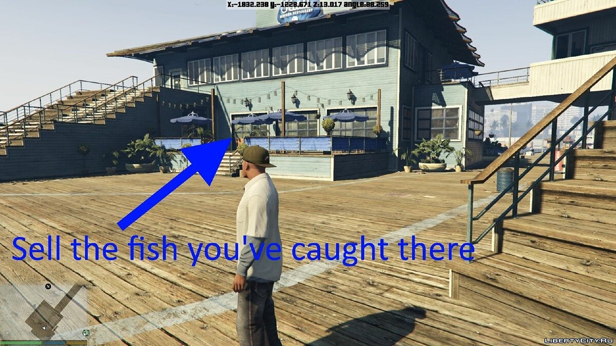 Fishing Mod 0.1 BETA для GTA 5 - скриншот #4