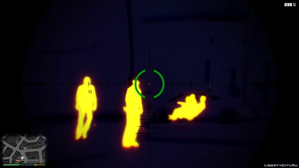 Toggle Night/Thermal Vision (+ scope-only mode) [LUA] 1.3.2 для GTA 5 - Картинка #4
