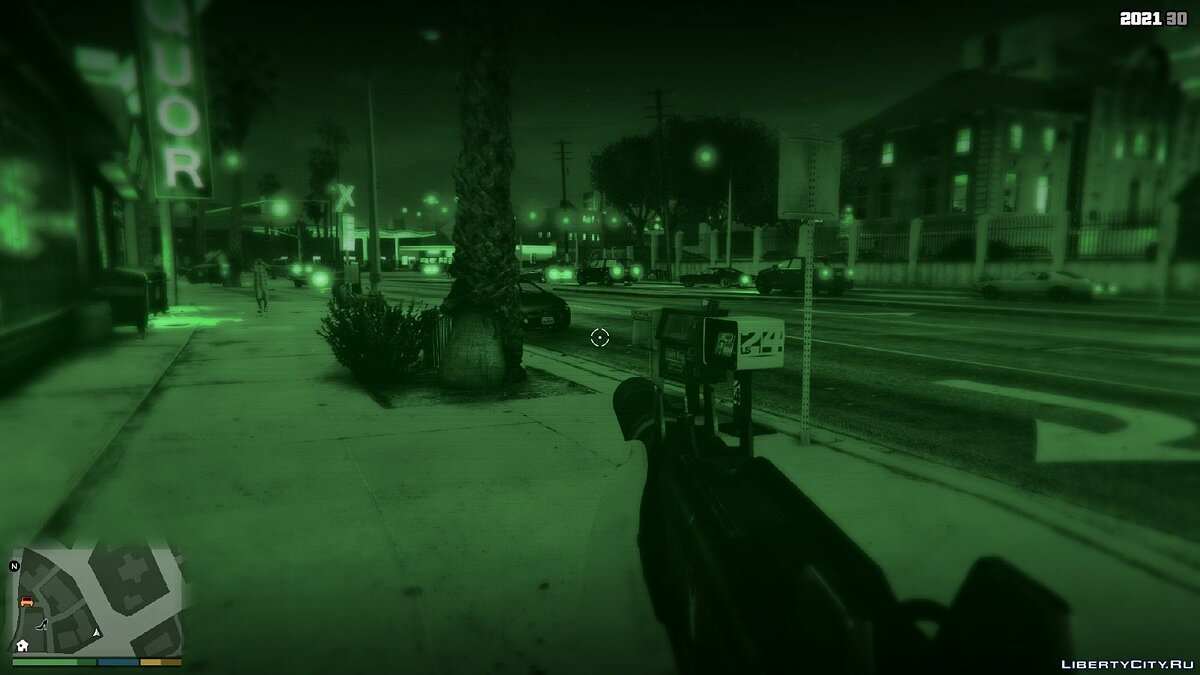 Toggle Night/Thermal Vision (+ scope-only mode) [LUA] 1.3.2 для GTA 5 - Картинка #5