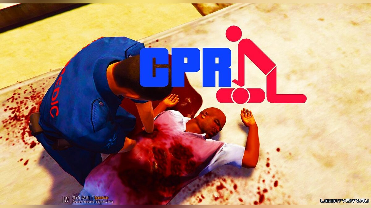CPR (Revive People) [Controller Support] 2.0 для GTA 5