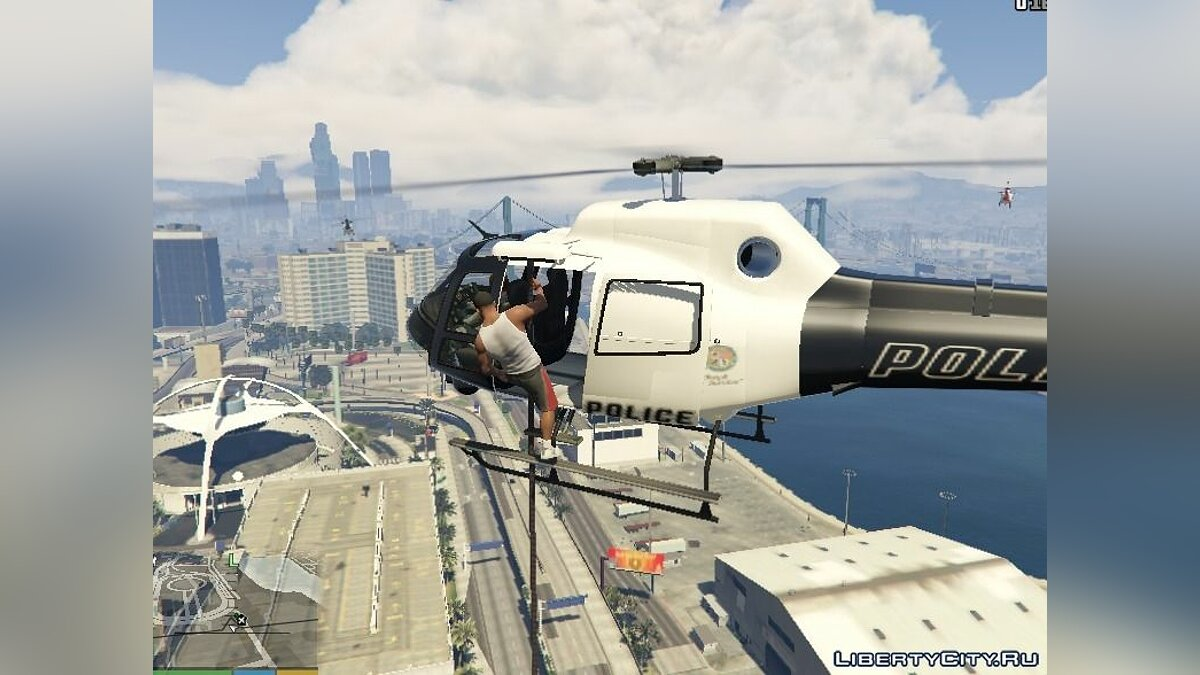 Rappel From Maverick Helicopters для GTA 5