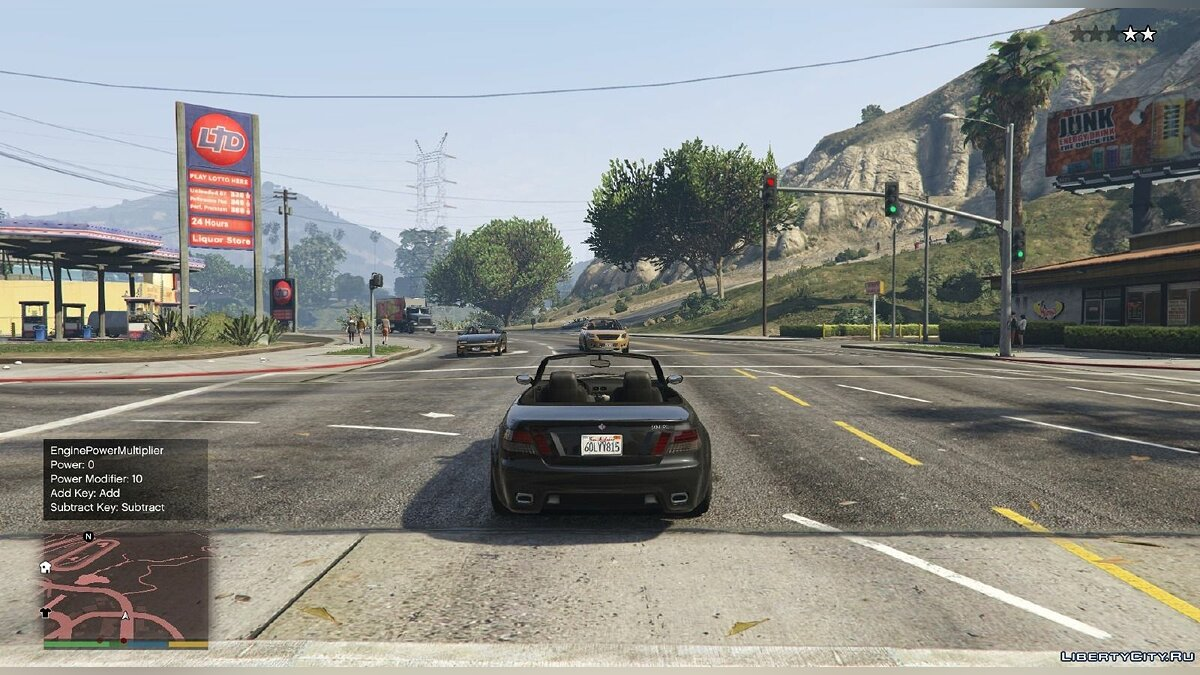 EnginePowerMultiplier [.NET] 1.3 для GTA 5