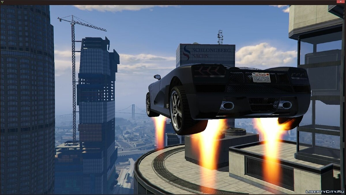 Vehicles Jetpack 1.2.2 для GTA 5