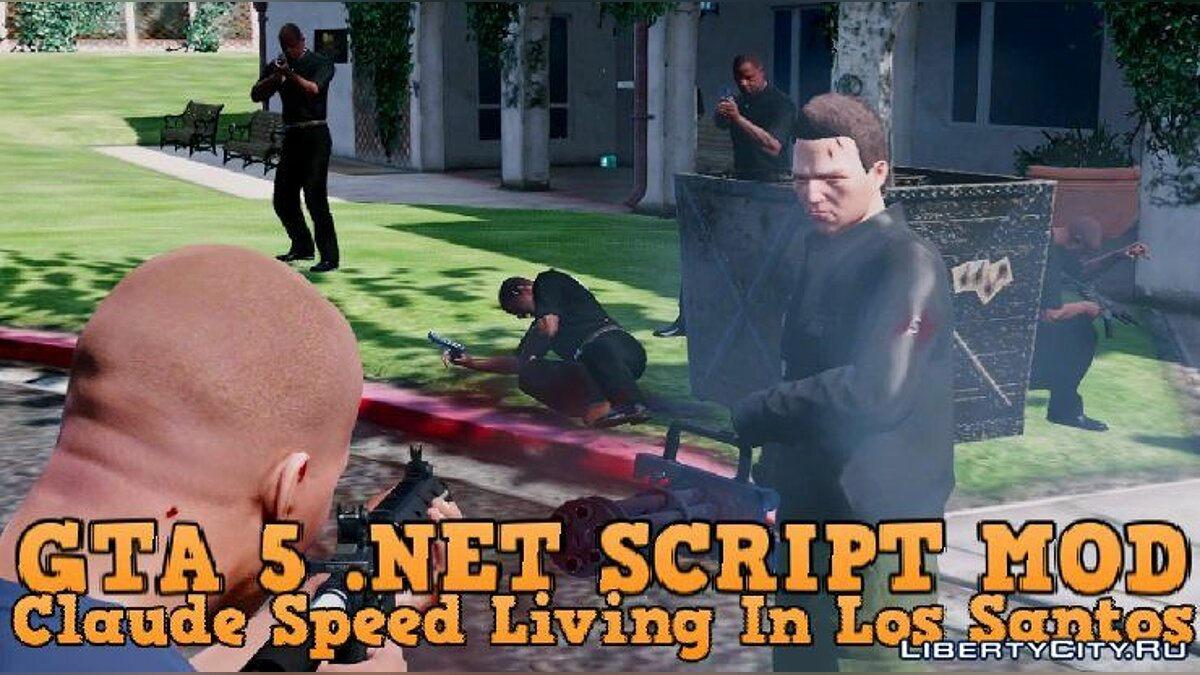 Скриптовый мод Claude Speed Living In Los Santos [.NET] v1.00 для GTA 5