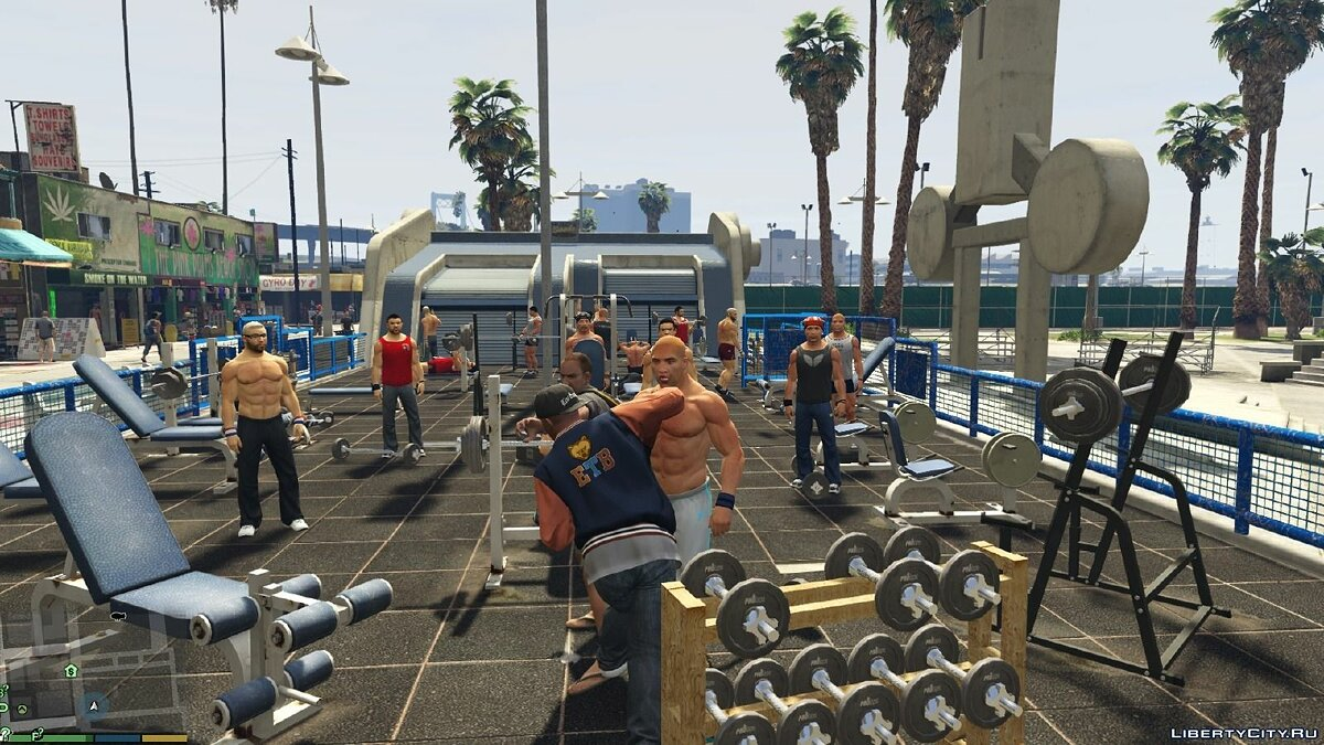 Реалистичные драки / GTA V Realistic Brawling 1.7+ для GTA 5