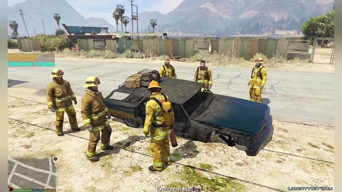 Пожарный / Firefighter Mod 1.0-RC1 для GTA 5