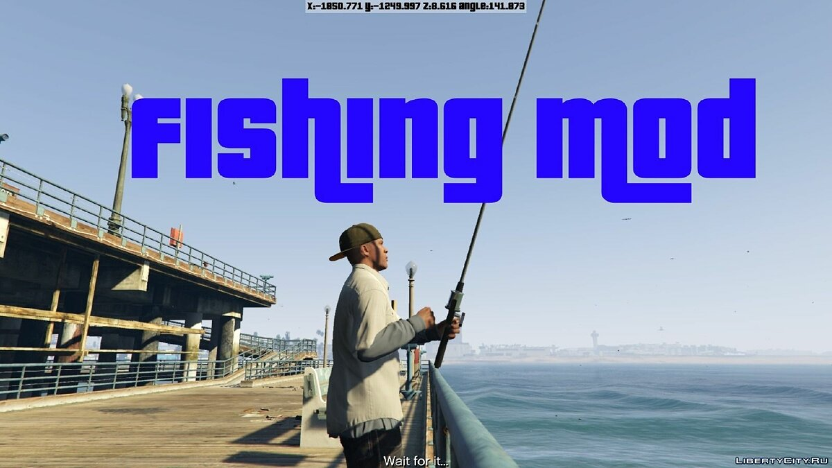 Fishing Mod 0.2.2 BETA для GTA 5