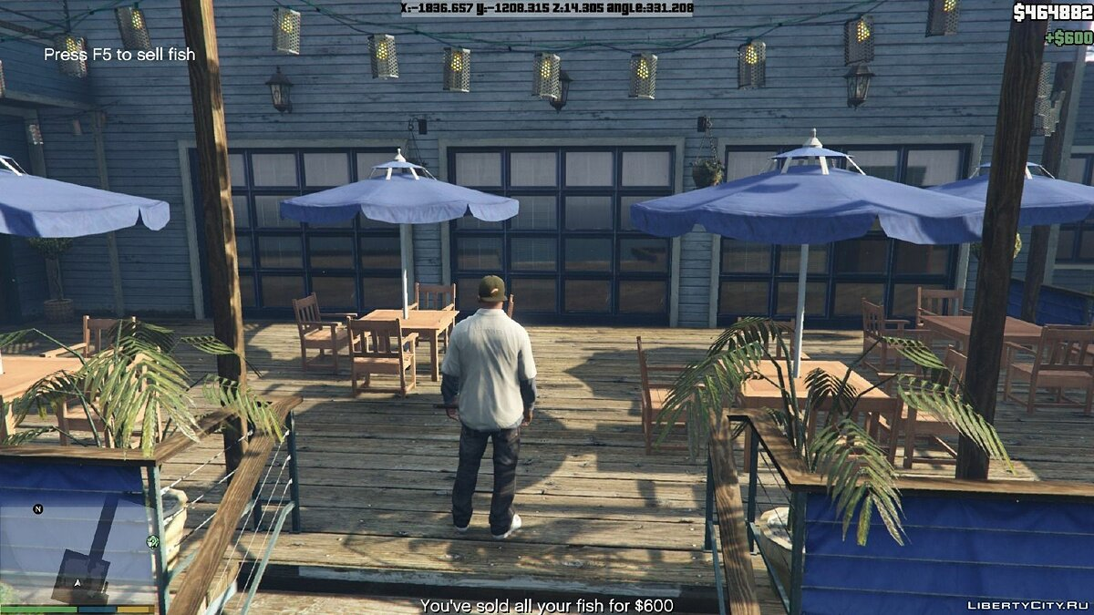 Fishing Mod 0.2.2 BETA для GTA 5 - скриншот #6