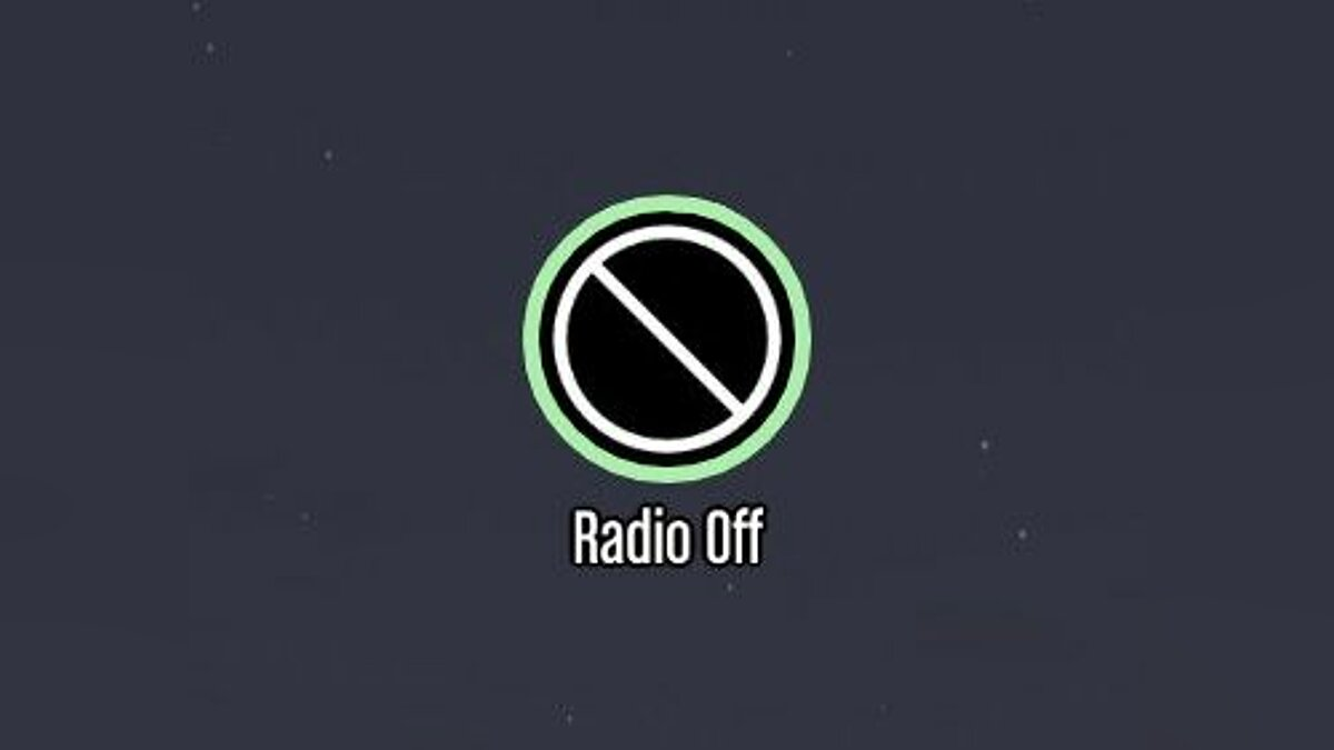 Tap Key For Radio Off для GTA 5