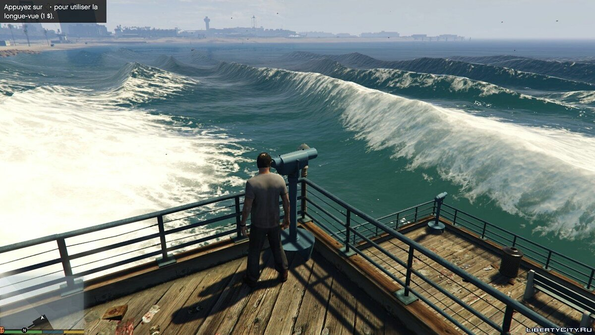 Natural bigger waves v1.0 для GTA 5 - скриншот #3