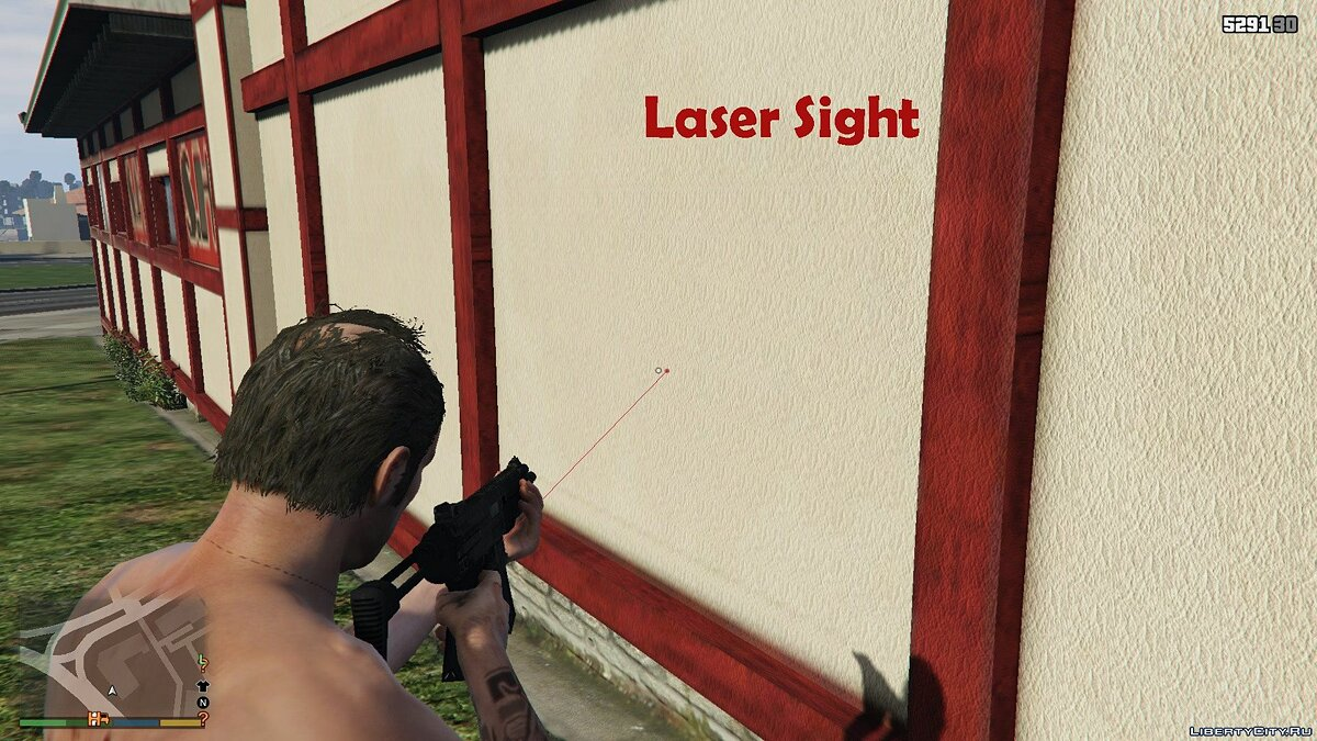 Laser Sight [.NET] 1.0 для GTA 5