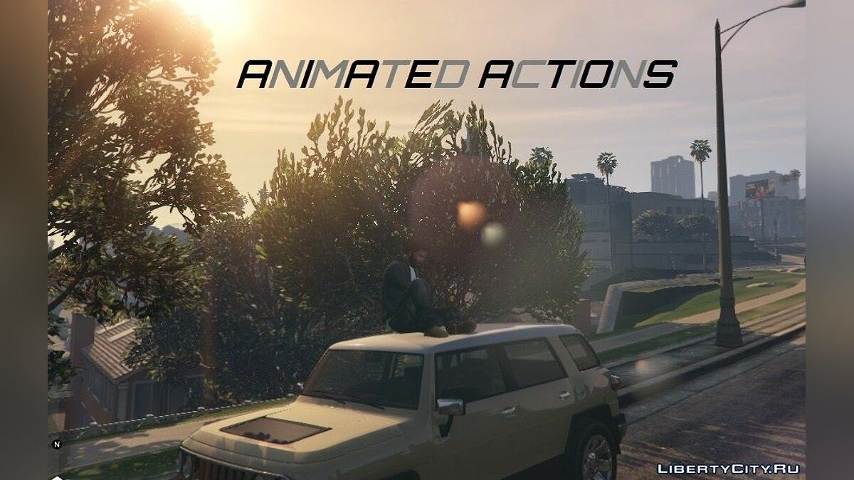 [GTALua] Animated Actions [Alpha] 0.05 для GTA 5