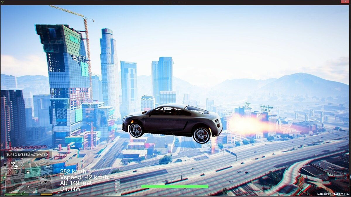 Vehicles Jetpack 1.2.3 для GTA 5
