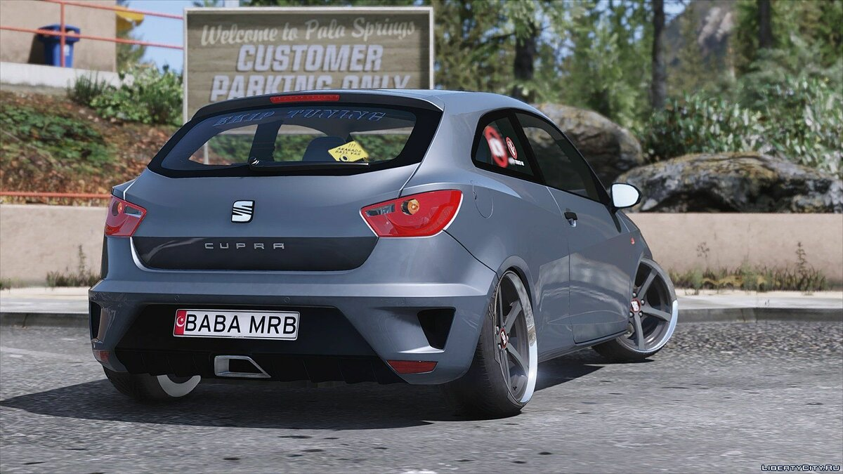 Seat Ibiza Cupra [Replace] 1.0 для GTA 5 - скриншот #3