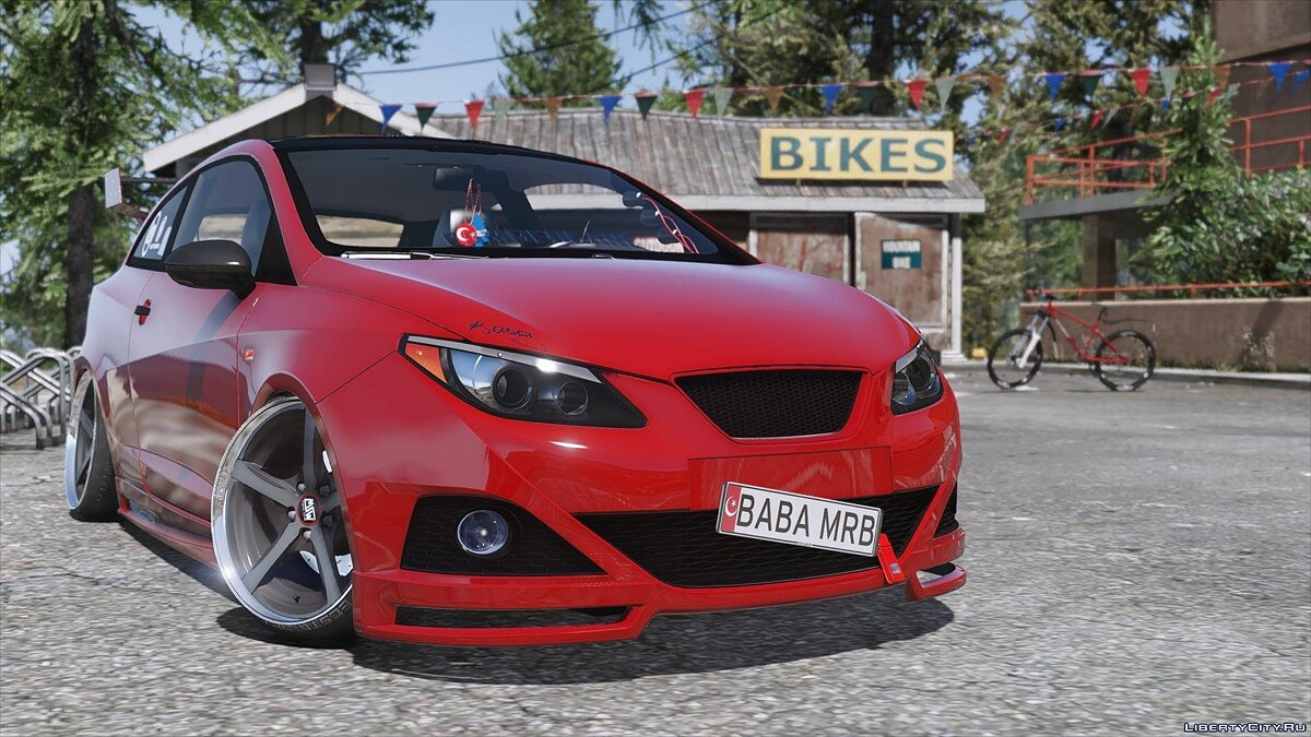 Seat Ibiza Cupra [Replace] 1.0 для GTA 5 - скриншот #4