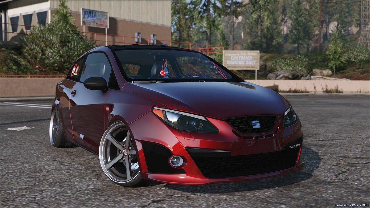 Машина Seat Seat Ibiza Cupra [Add-On] 1.0 для GTA 5