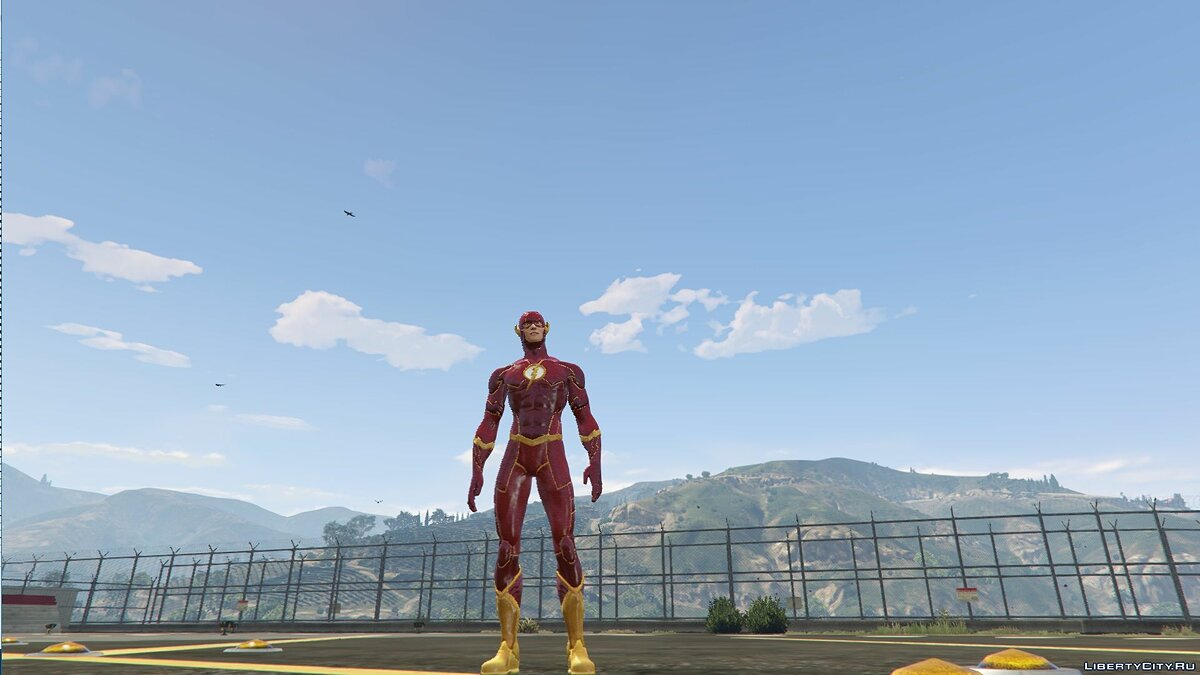 Сборник скинов Flash Pack для GTA 5