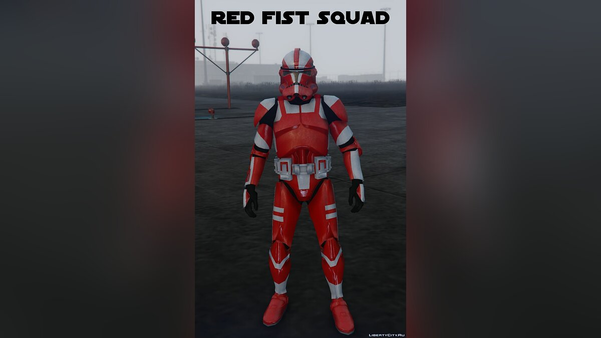 ��борник скинов Rezzed Clone Troopers Pack [Add-On] 4.0 для GTA 5
