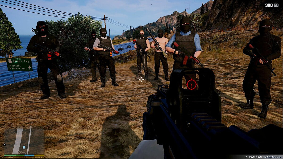 ��борник скинов Terrorists [Add-On Ped] 1.1 для GTA 5