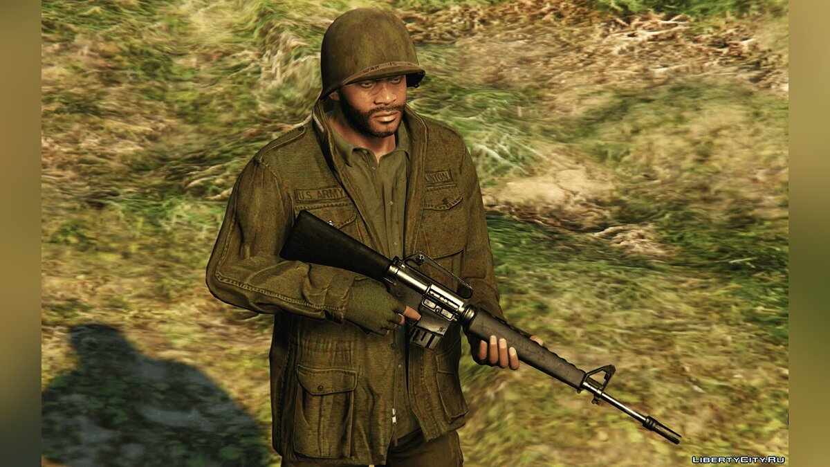 Сборник скинов Vietnam Pack for Franklin 1.0 для GTA 5