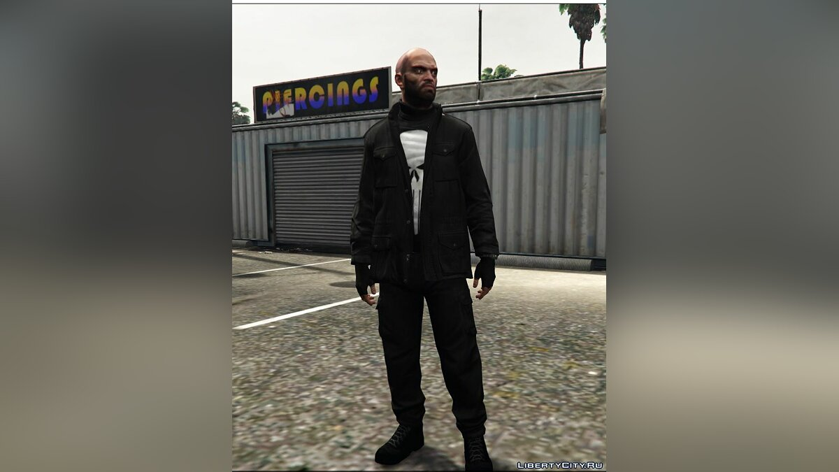 Сборник скинов Punisher Clothes For Trevor для GTA 5