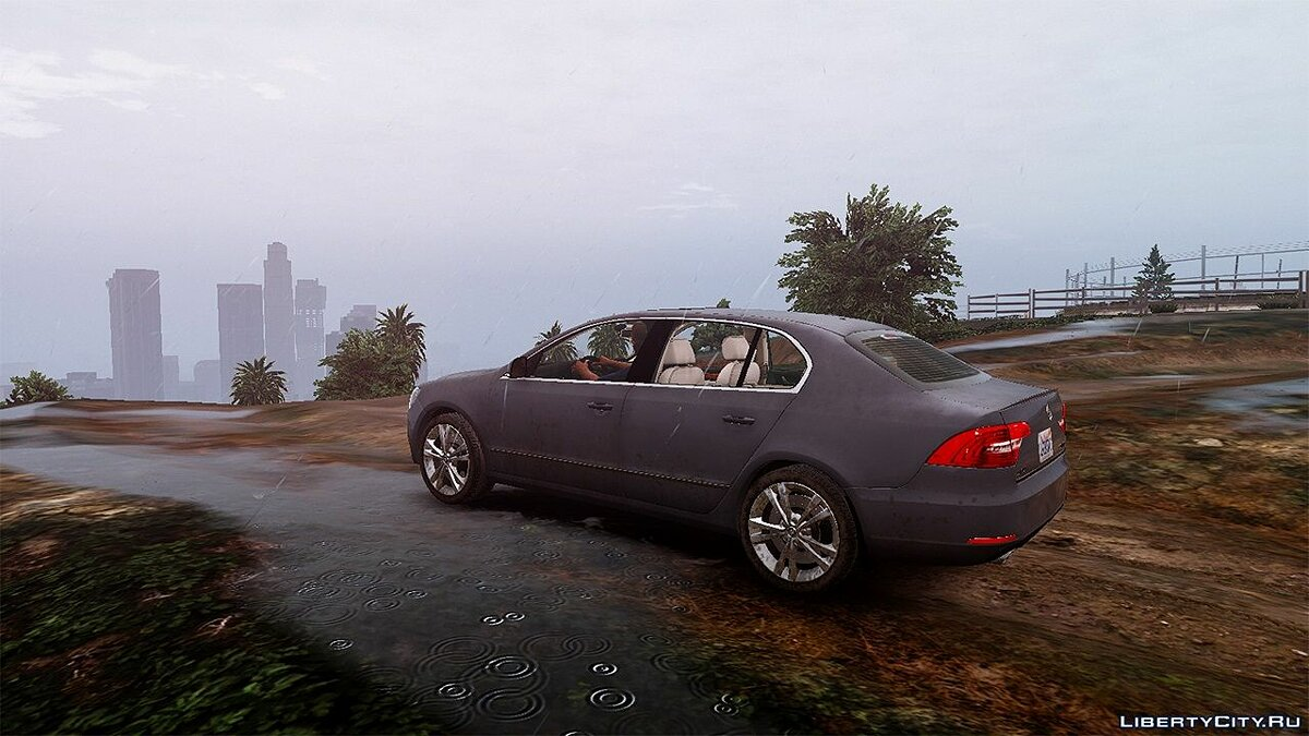 Машина Skoda 2014 Skoda Superb [Add-On / Replace] 1.5 для GTA 5